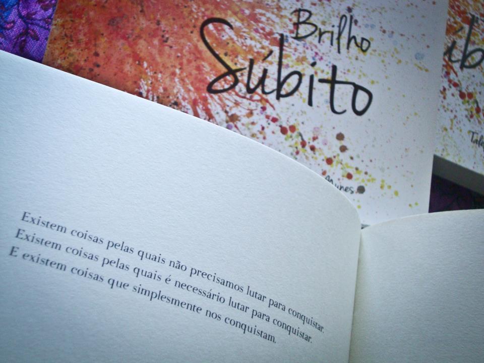 Livro: Brilho Súbito