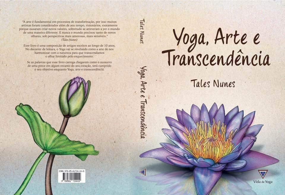 """Livro """"Yoga, arte e transcendência""""."""